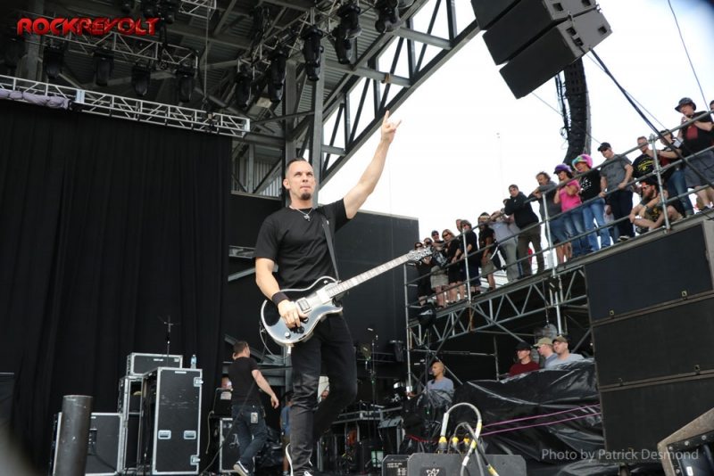 2017 - Rock on the Range - Alter Bridge - Mark Tremonti