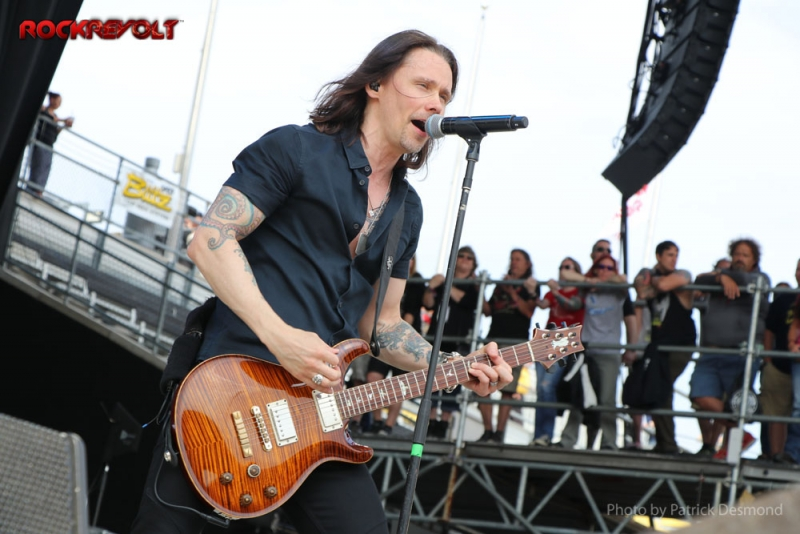 2017 - Rock on the Range - Alter Bridge - Myles Kennedy