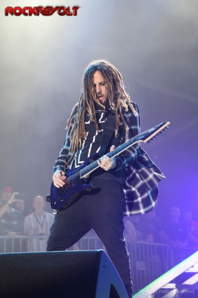 2017 - Rock on the Range - Korn - Brian Head Welch - Head