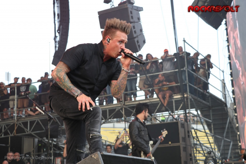 2017 - Rock on the Range - Papa Roach - Jacoby Shaddix
