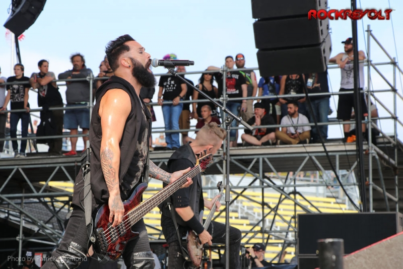 2017 - Rock on The Range - Skillet