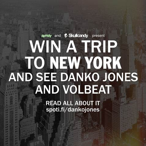 NEWS: Win a Trip to See DANKO JONES and VOLBEAT in NYC