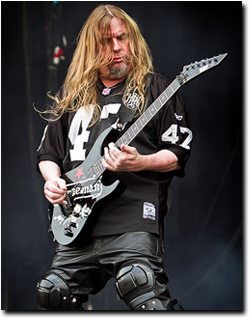 SLAYER RELEASE STATEMENT ABOUT JEFF HANNEMAN