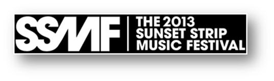 SUNSET STRIP MUSIC FESTIVAL ANNOUNCES ADDITIONAL ARTISTS FOR 2013