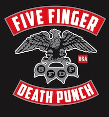 FIVE FINGER DEATH PUNCH ANNOUNCE NEW RELEASE DATE OF JULY 30 FOR THE WRONG SIDE OF HEAVEN AND THE RIGHTEOUS SIDE OF HELL VOLUME 1
