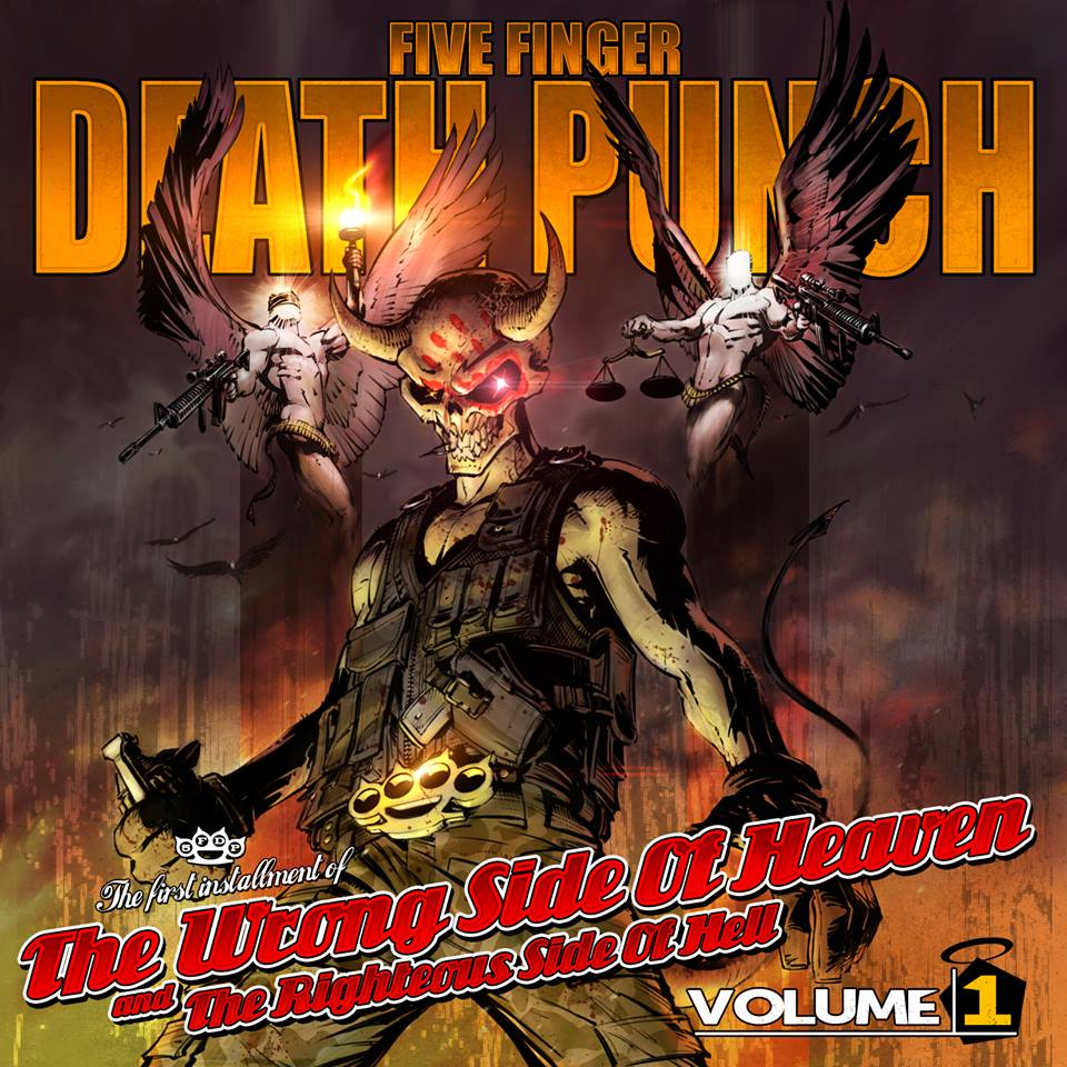 NEW FIVE FINGER DEATH PUNCH ALBUM DEBUTS GLOBALLY AS #1 ROCK ALBUM!