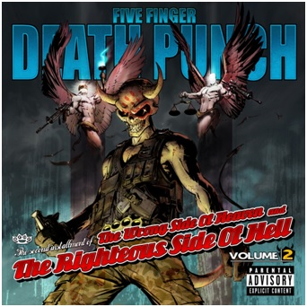 FIVE FINGER DEATH PUNCH BEGINS PRE-ORDERS FOR VOLUME 2 TOMORROW!