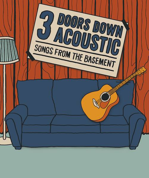 3 DOORS DOWN ANNOUNCE ACOUSTIC TOUR FOR 2014
