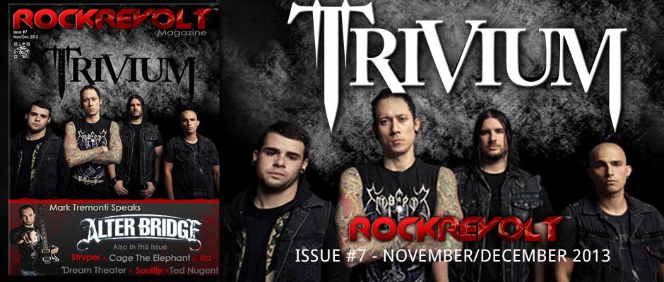 ROCKREVOLT MAGAZINE:  November/December 2013!