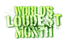 MUSIC NEWS: WORLD'S LOUDEST MONTH DATES ANNOUNCED
