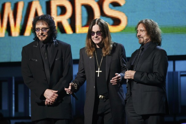 "BLACK SABBATH ""SHOCKED AND THRILLED"" AT GRAMMY WIN"