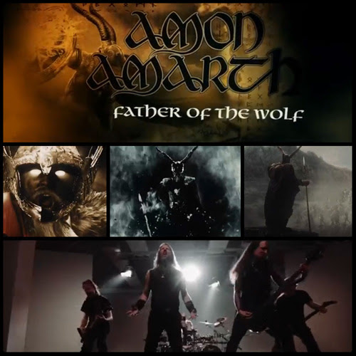 "WATCH AMON AMARTH'S EPIC VIDEO FOR ""FATHER OF THE WOLF"""