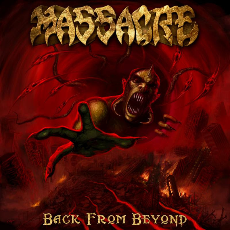 "MASSACRE RELEASES NEW INFO ON THEIR UPCOMING ALBUM ""BACK FROM BEYOND"""