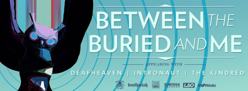 BETWEEN THE BURIED AND ME RELEASE TEASER VIDEO FOR UPCOMING TOUR!