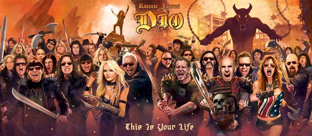 MEGA MUSICIANS PLAY ON NEW RONNIE JAMES DIO TRIBUTE ALBUM