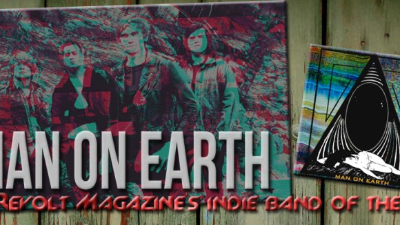 man on earth - banner - indie band of the week - ibotw