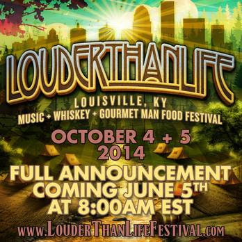 FIRST LOUDER THAN LIFE FESTIVAL!