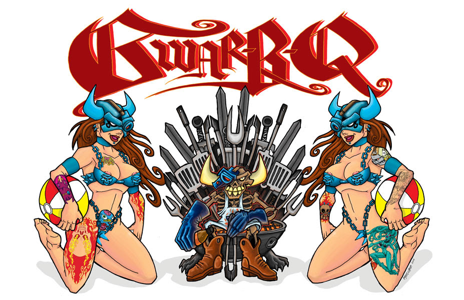 GWAR-B-Q 2014 & DAVE BROCKIE MEMORIAL ANNOUNCED