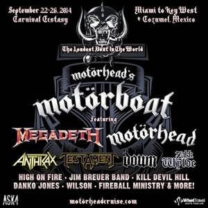 FIRST MOTÖRHEAD'S MOTÖRBOAT ANNOUNCED