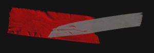 tape divider red