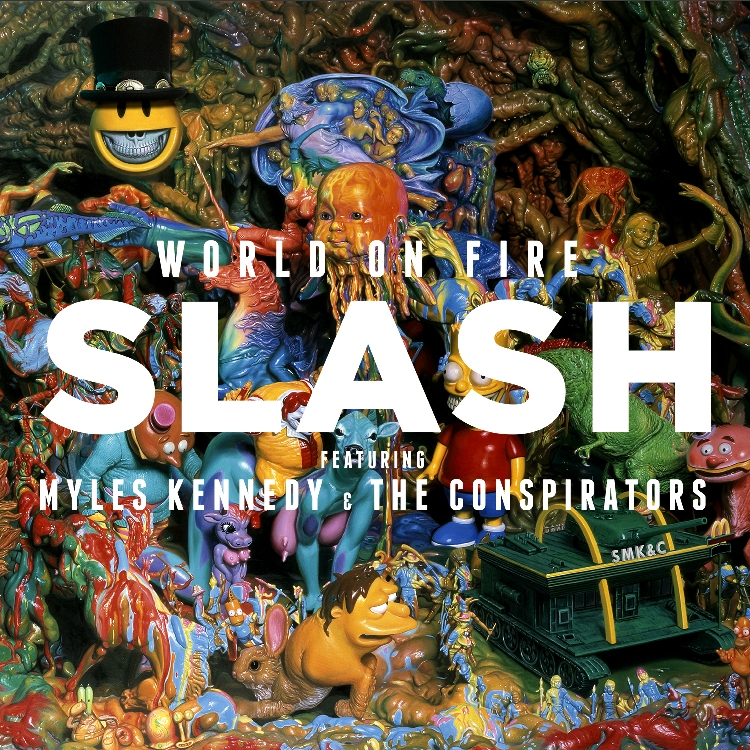 ALBUM REVIEW: WORLD ON FIRE – SLASH