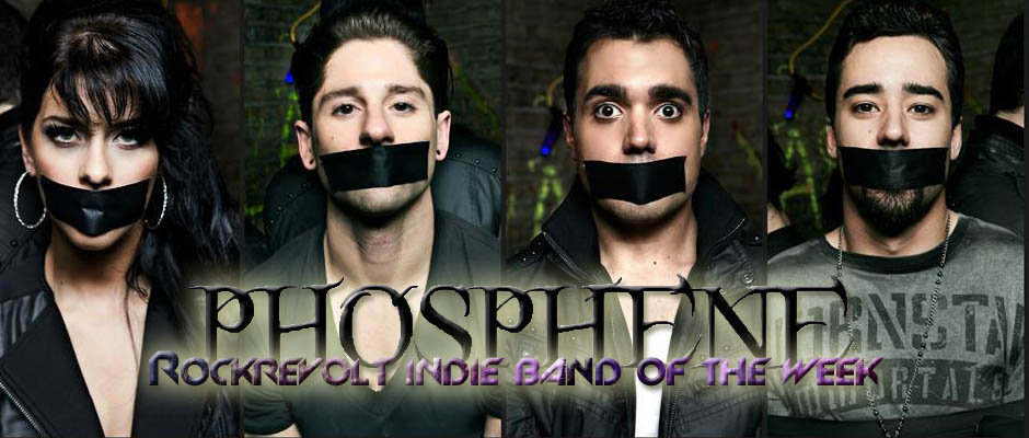 phosphene - indie band of the week - banner