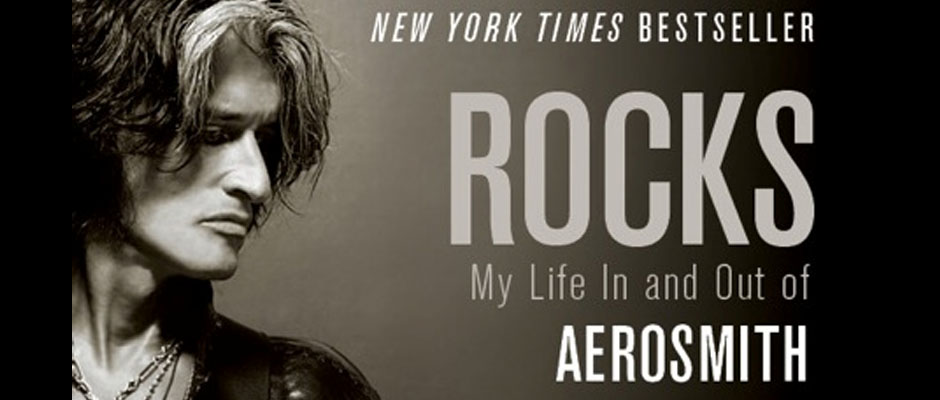 joe perry - banner - rocks - my life in and out of aerosmith