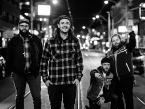 Cancer Bats - band - black and white