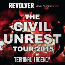 Dates Announced For The Civil Unrest Tour 2015 Featuring Ill Nino