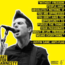 INTERVIEW: JUSTIN SANE OF ANTI-FLAG