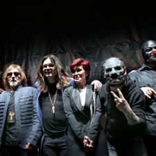 PHOTOS – OZZY OSBOURNE AND COREY TAYLOR PRESS EVENT