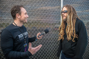 "Tommy Leu interviewing Brian ""Head"" Welch"