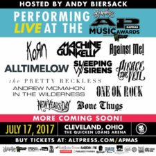 The 4th Annual JOURNEYS ALTERNATIVE PRESS MUSIC AWARDS, FUELED BY MONSTER ENERGY Announce Expansive Performance Line-Up