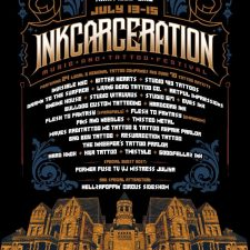 TATTOO ARTISTS AND MISTRESS JULIYA ANNOUNCED FOR INKARCERATION
