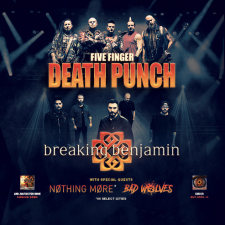 FIVE FINGER DEATH PUNCH WITH BREAKING BENJAMIN LIVE SHOW REVIEW AND PHOTOS