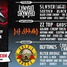 First ever Exit 111 Festival features more than 40 acts including Lynyrd Skynyrd, Def Leppard and Guns N' Roses