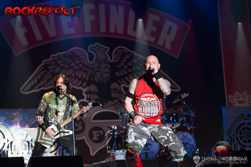 ROCKLAHOMA 2014 LIVE PICS: FIVE FINGER DEATH PUNCH