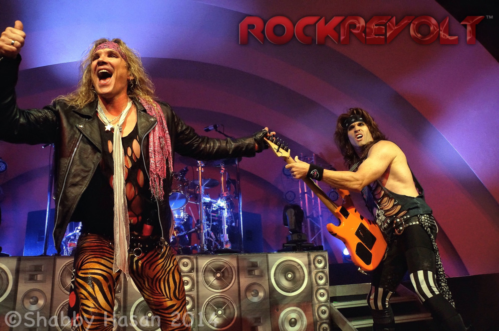 LIVE PICS:  STEEL PANTHER