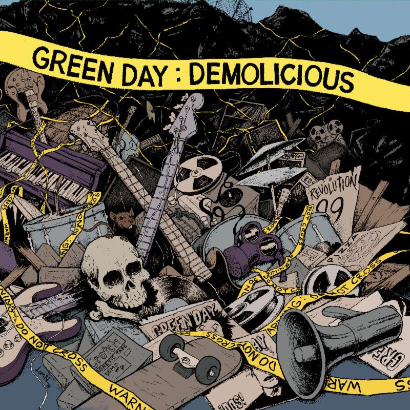 "GREEN DAY'S ""DEMOLICIOUS"" OUT TODAY"