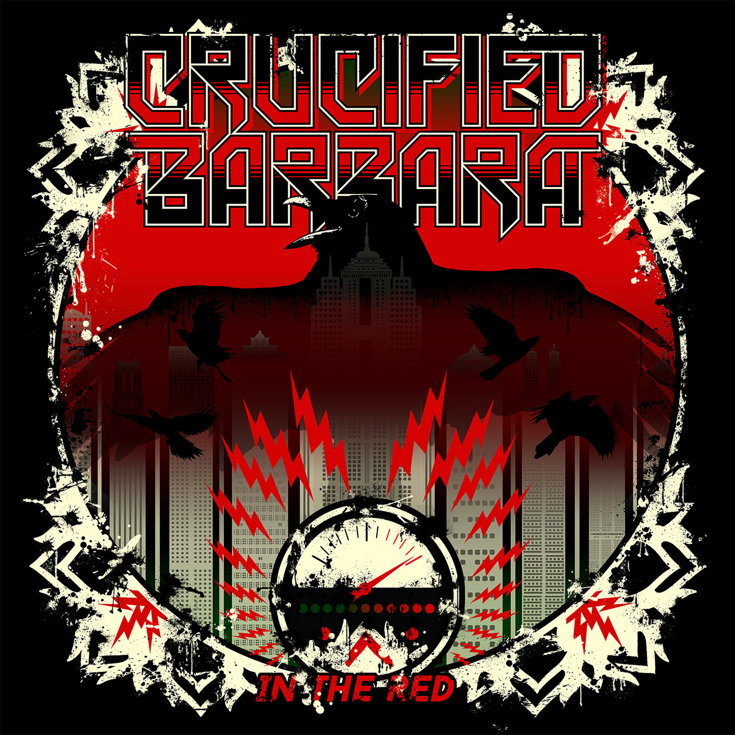 ALBUM REVIEW: CRUCIFIED BARBARA – IN THE RED