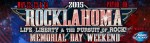 ROCKLAHOMA 2015 LINEUP ANNOUNCED!